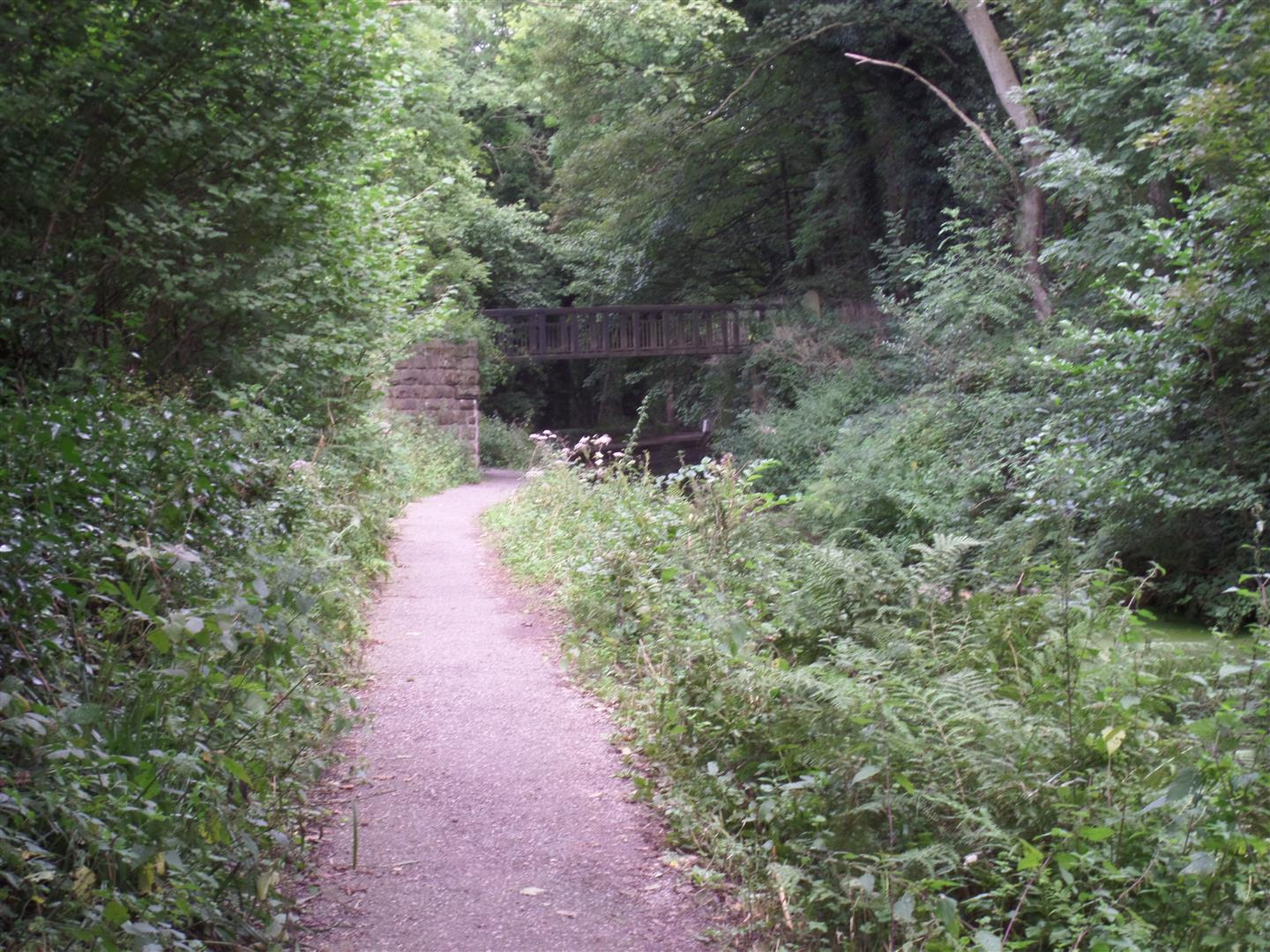 Footbridge over the Cromford Canal
